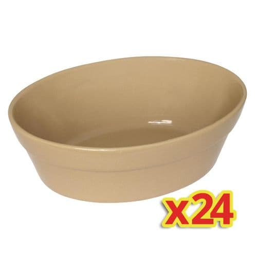 Special Offer - 4x Box of 6 Olympia Oval Pie Bowls (Pack of 24)